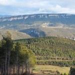 Sierra de Leire desde Salajones