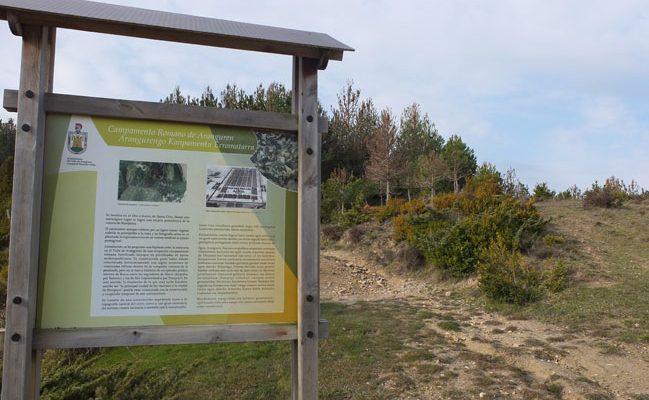 Campamento romano de Aranguren o de Zarbeta