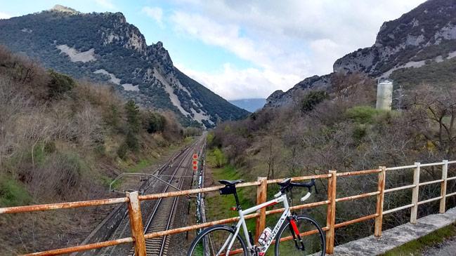 Desfiladero de Oskia en el valle de Arakil