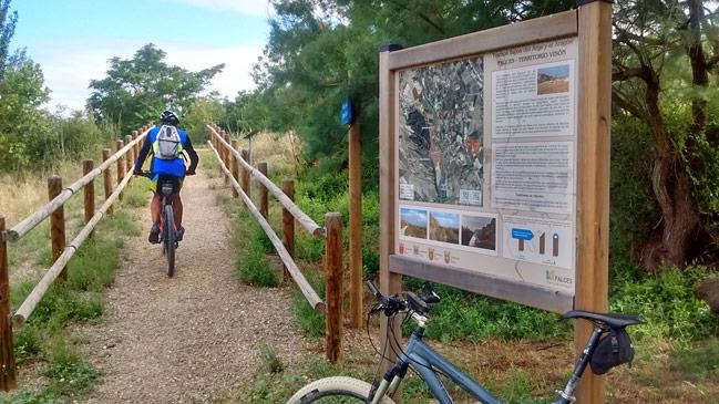 Camino Verde de la RIbera Alta Territorio Visón europeo
