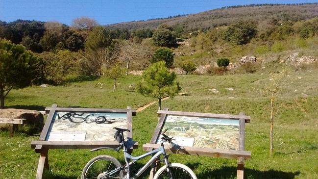 Senderos balizados por monte Ezcaba IMBA España