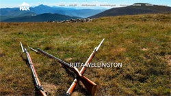 Web oficial Ruta Wellington en Burguete