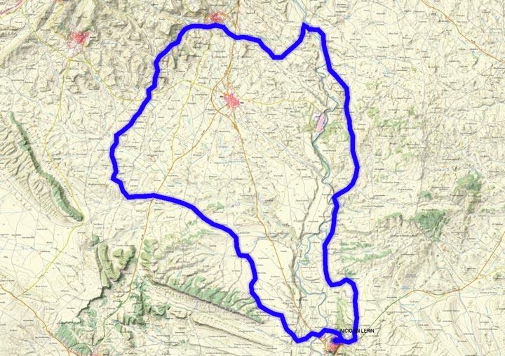 Mapa del recorrido 243BTT
