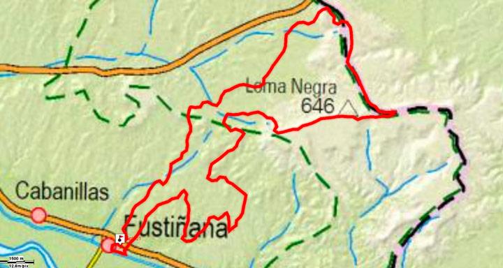 Mapa del recorrido 269BTT