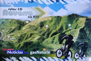 Rutas 3D Navarra en BTT ©Diario de Noticias
