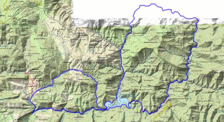 Mapa del recorrido 278BTT