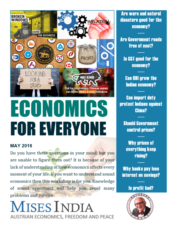 Economics for Everyone flyer