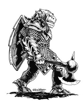 Eric Lofgren Dragonman Warrior