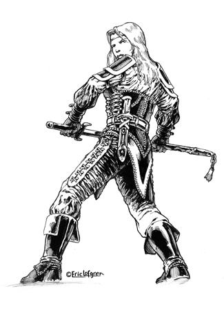 Eric Lofgren Female Human Fighter