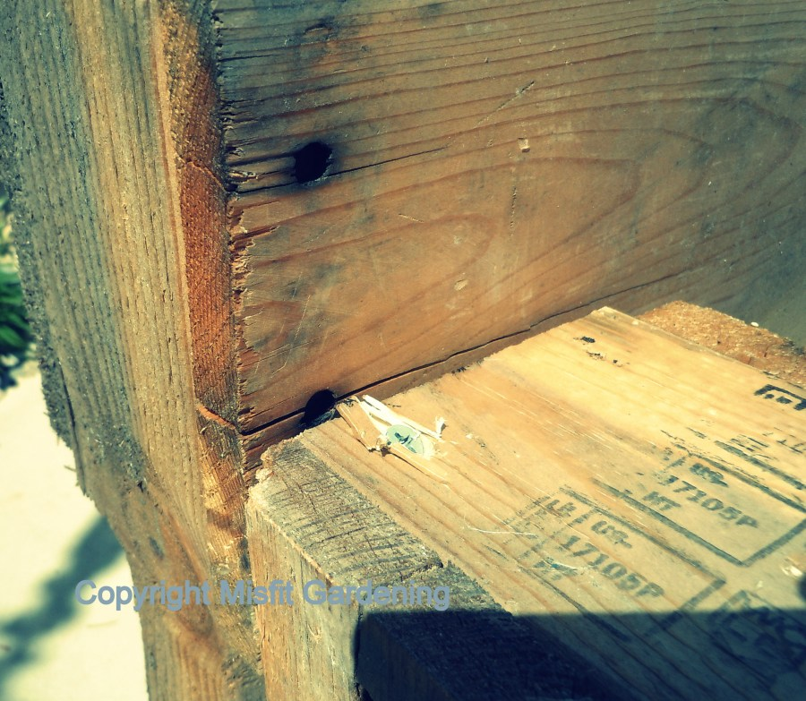 How to make a composter from pallets