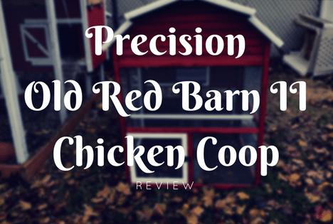 Precision Old Red Barn Chicken Coop Review
