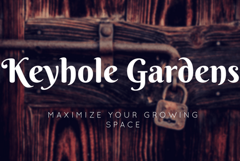 what's a keyhole garden