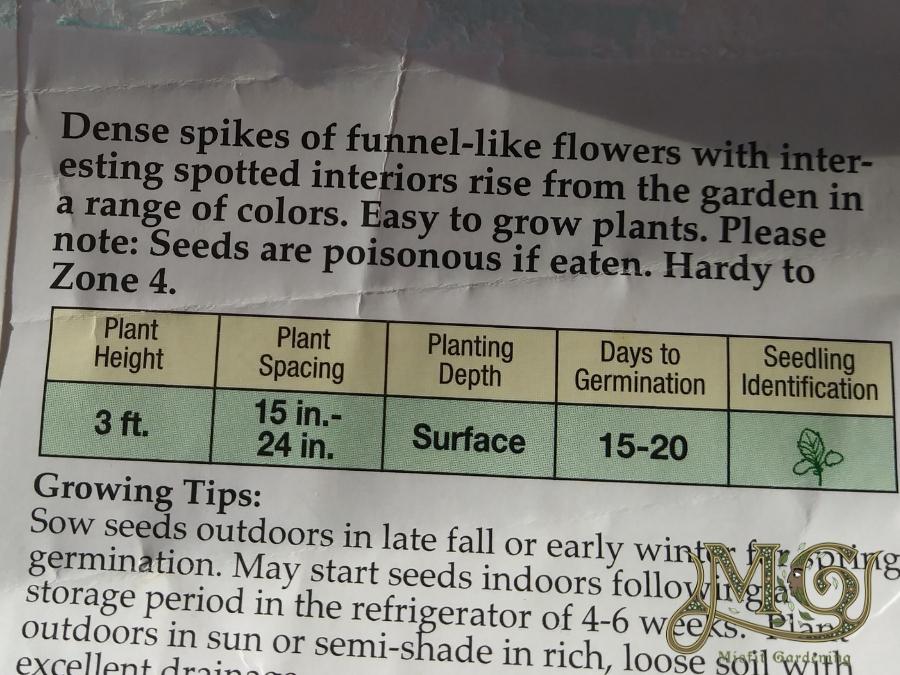 wie man Samenpakete zurückliest