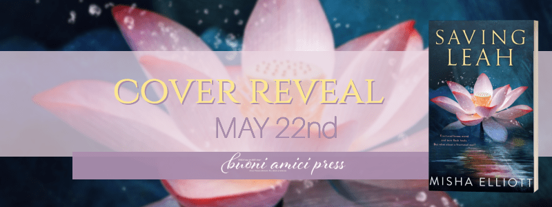 Welcome to the Cover Reveal of Saving Leah