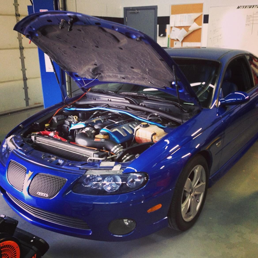 2004 GTO test-fit vehicle