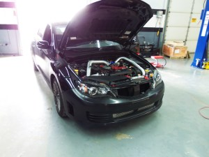 Mishimoto Subaru WRX/STi Front-Mount Intercooler Kit, Part 6: Final Prototype Installation Shots