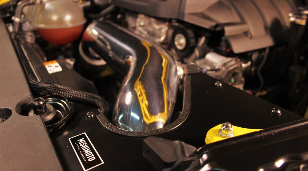 Mishimoto intake installed
