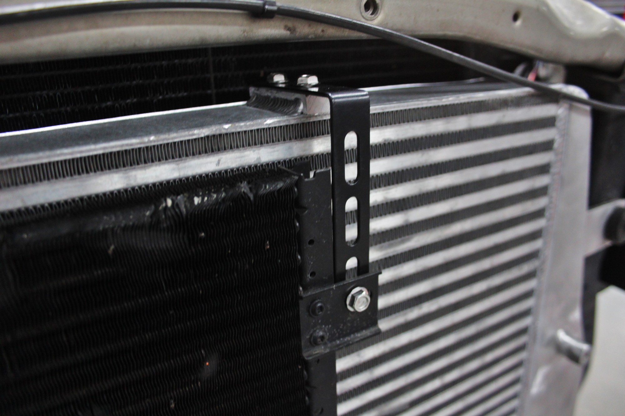 hight resolution of mishimoto intercooler ac condenser bracket may 4 2015 5184 3456