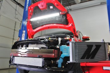 Don't Let Oil Temps Stop The Fiesta! Mishimoto Oil Cooler R&D, Part 1: Plans and Initial Fabrication