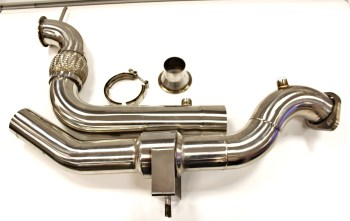 Unleashing The EcoBoost. Downpipe Development, Part 3: First Prototype Presentation and Test Fitting