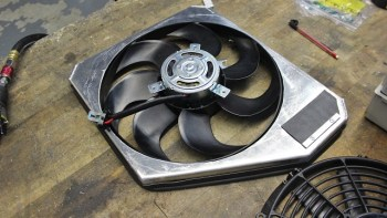Keeping The Party Cool! Mishimoto's Ford Fiesta ST Radiator R&D, Part 3: Initial Fan Shroud Fabrication