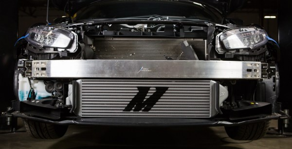 Honda was nice enough to leave plenty of room for us to expand our intercooler into.