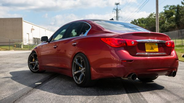 In other markets, the Q50 carries the notorious Skyline nomenclature, and where it's not quite on the level of the GT-R, it can certainly hold its own.