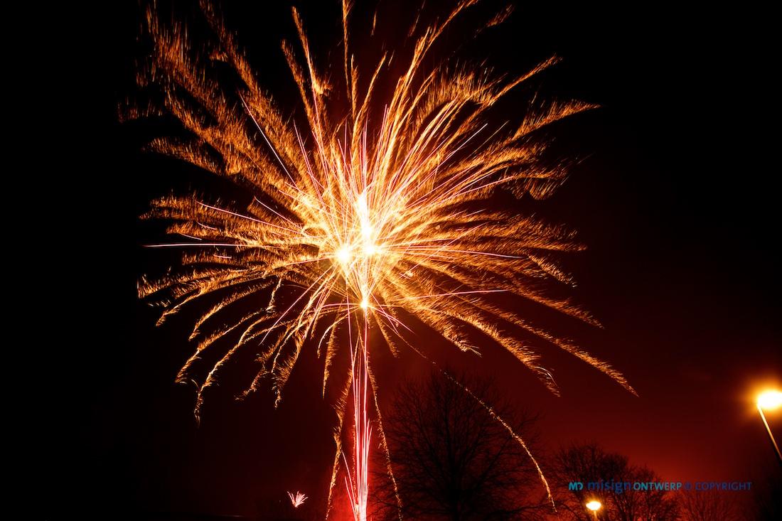 Vuurwerk - misign fotografie