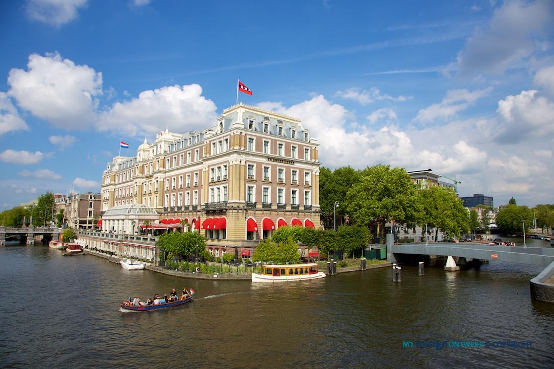 Amstel hotel aan de Amstel in Amsterdam