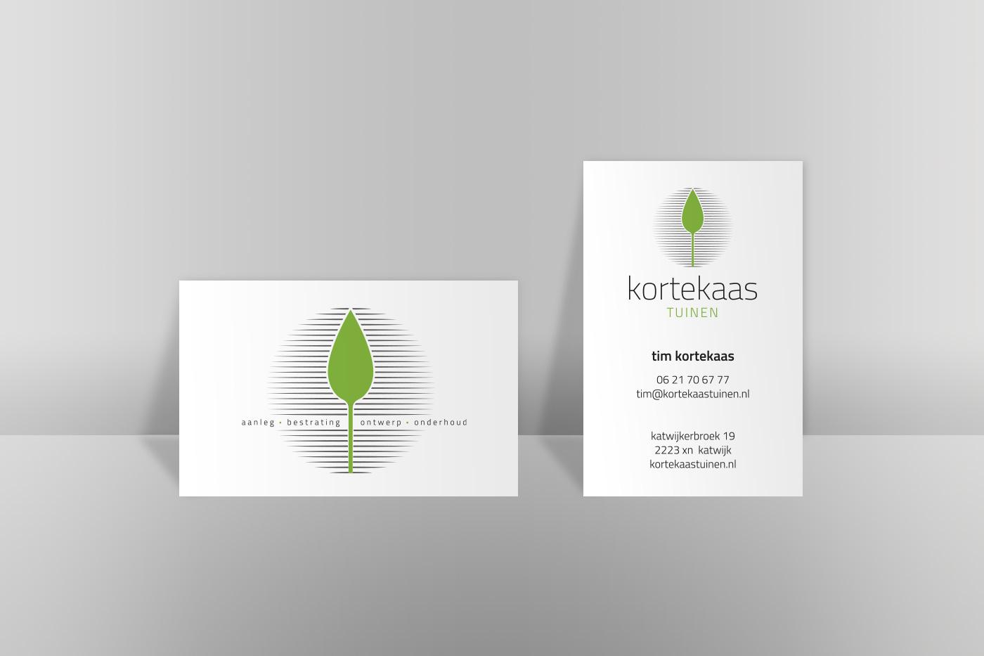Kortekaas tuinen - Grafisch ontwerp door misign ontwerp amsterdam
