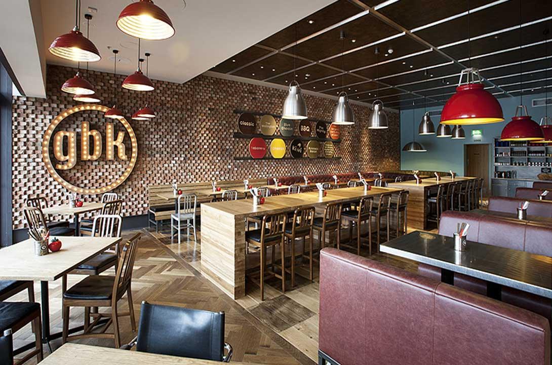 Gourmet Burger kitchen Dublin