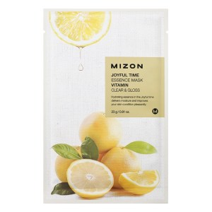 Mizon Joyful Time Essence Mask VITAMIN kasvonaamio