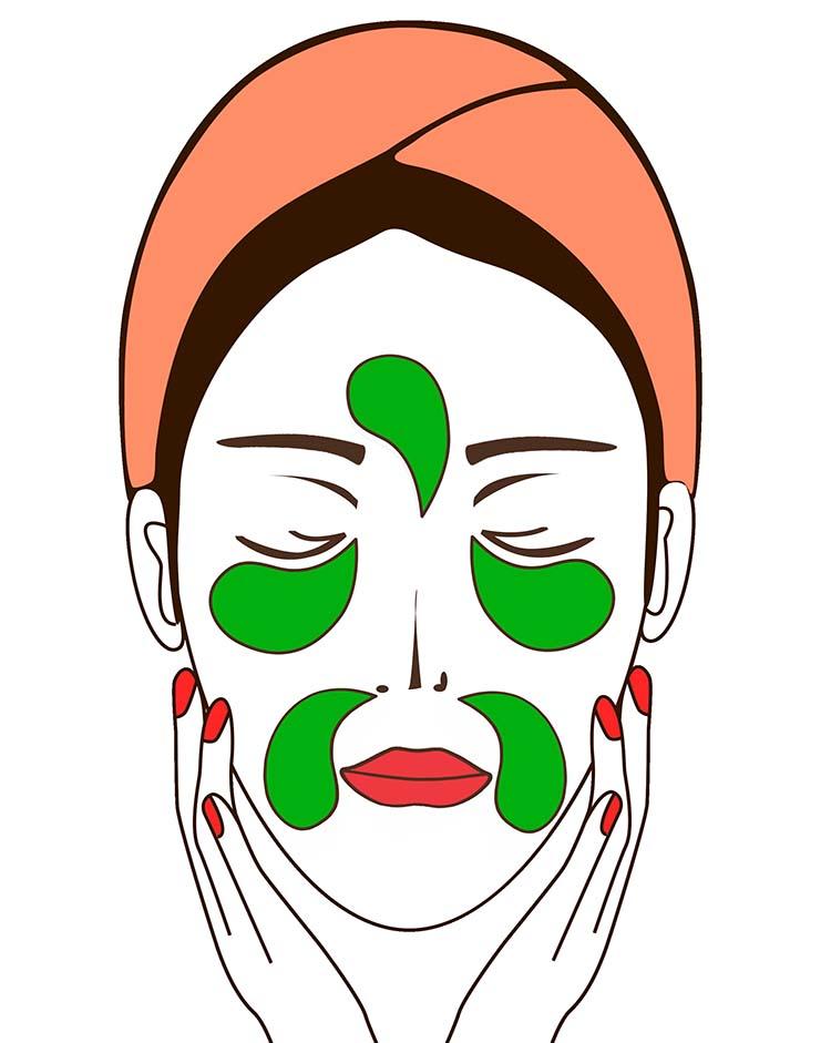Silmänympärysnaamioiden käyttövinkit