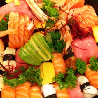 Sashimi & Sushi Medium Party Tray
