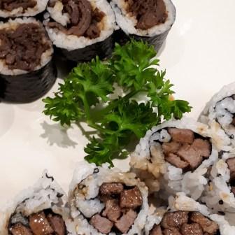 Beef Teriyaki Bulgogi Roll
