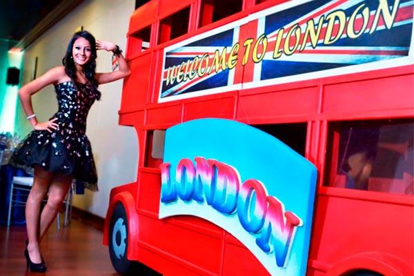 Un Quinceañero con el Tema de London