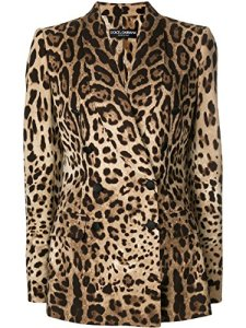 Dolce E Gabbana Femme F296otfsaddhk13m Marron Soie Blazer