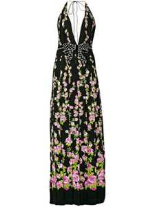 Gucci Femme 489010Zje491868 Noir Viscose Robe