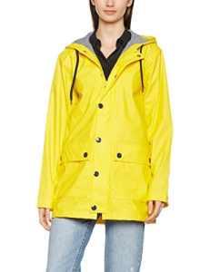 Petit Bateau Finou, Manteau Femme, Jaune (New Yellow), X-Large (Taille Fabricant: XL)