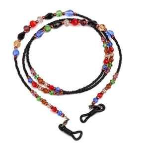 Phenovo Chaîne à Lunettes Porte-Lunettes Style Bohême pour Lunettes Lunettes de Soleil – Coloré