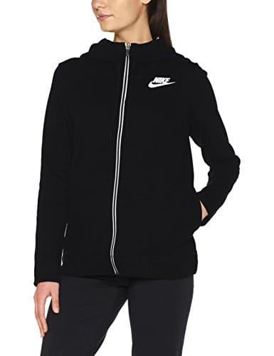 Nike 857416-010 Veste Femme, Noir/Blanc, FR : XS (Taille Fabricant : XS)