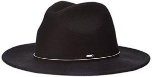 Pepe Jeans Cheryl Hat, Chapeau en Feutre Femme, Noir (Black), Taille Unique (Taille Fabricant:000)