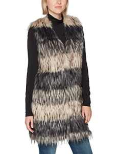 Sisley Gilet, Pull sans Manches Femme, Multicolore (Multicolor 901), X-Small (Taille Fabricant: 40)