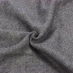 Écharpe Femme Étole Pashmina Tissage Uni Châle Foulard Chaud Tassels Couleur Unie Doux et Long 200 x 70 cm((10+ Couleurs) (Grey)