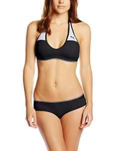 PUMA Active Bikini Femme Noir FR : XS (Taille Fabricant : XS)