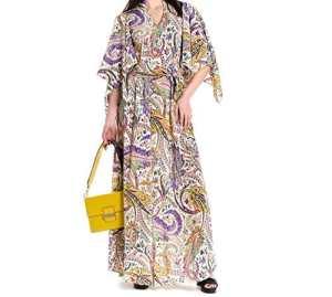 Etro Femme 177874334990 Multicolore Soie Robe