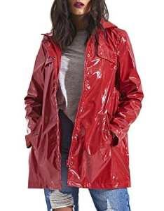 SS7 nouvelles femmes coupe vent imperméable, rouge, Tailles 8 pour 16 – Rouge, 40