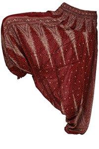 Zarlena – Pantalon – Relaxed – Femme – Rouge – taille unique