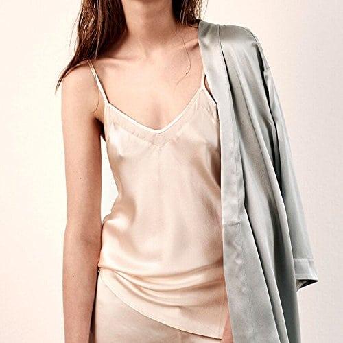 Ginia Haut de pyjama Femme rose 42   Miss Addict
