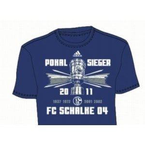 Adidas FC Schalke 04Vainqueurs 2011T-shirt, G.S